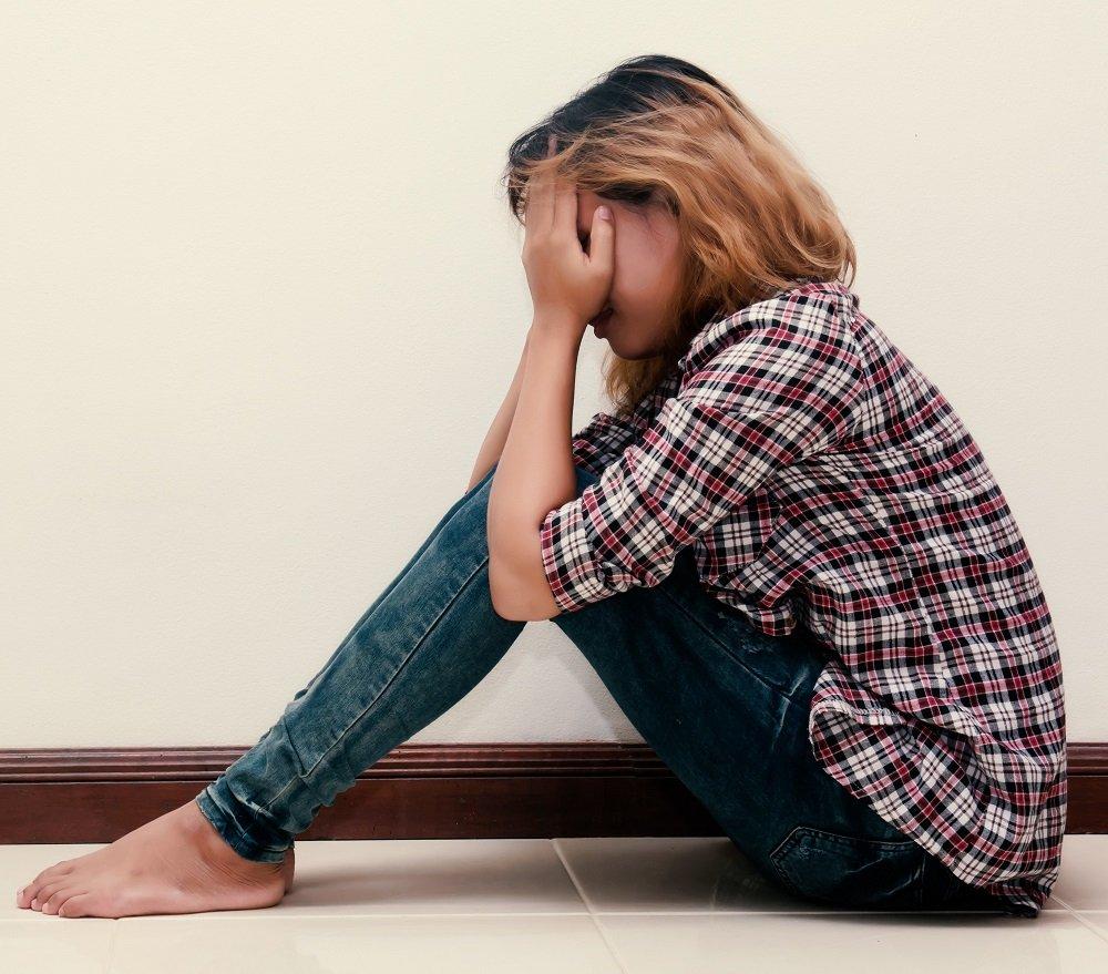 depressed adolescent