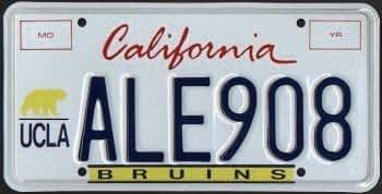Collegiate License Plate