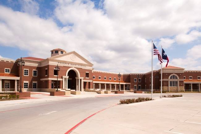 德克�_斯州Prosper的Prosper高中