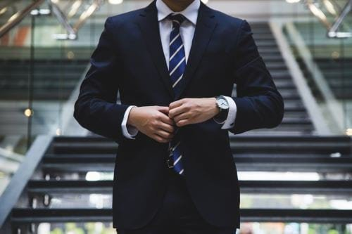 Person in a suit