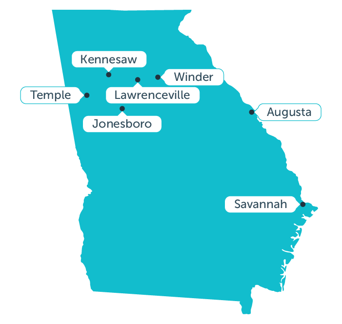 Aceable's fastest growing markets in georgia