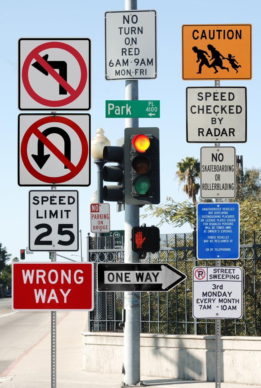 Road Sign Test