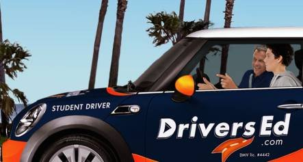 Our partner company, DriversEd.com, offers behind-the-wheel training with experienced instructors.