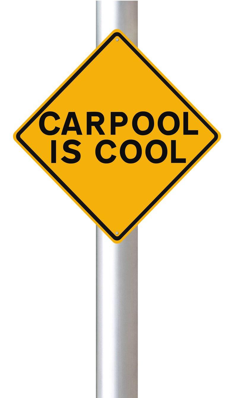 carpooling is cool