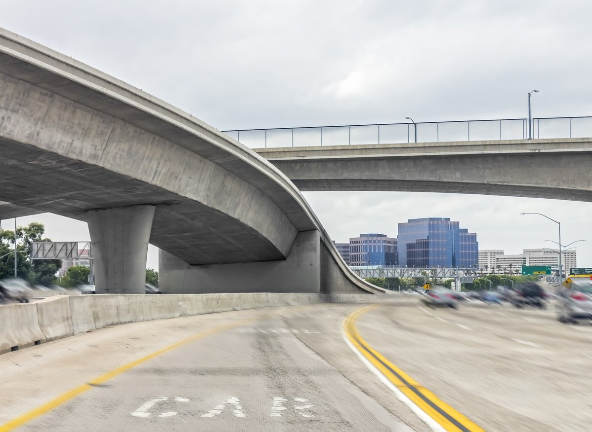 hov lanes - demarcated carpool lanes