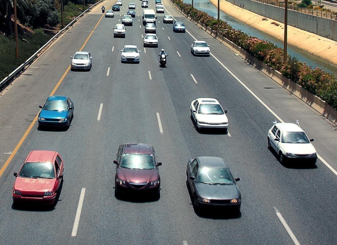 freeway cars