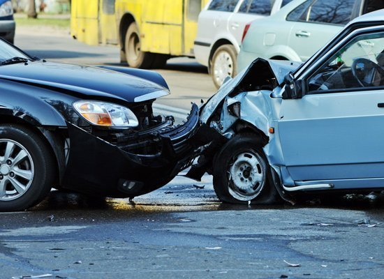 intersection head on collision