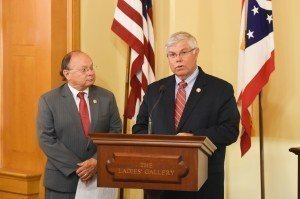 Ohio Reps. Gary Scherer and Michael Sheehy announce House Bill 293 June 29