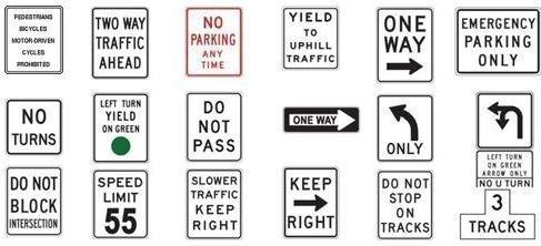 California Road Signs