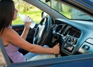 It's time to quick those distracted driving behaviors and stay focused on the road