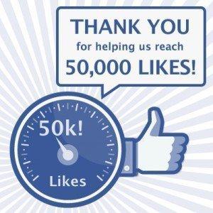 DriversEd.com Facebook: 50,000 likes