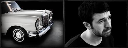 artist combines modern art and cars