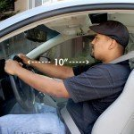 air bags safe distance from wheel
