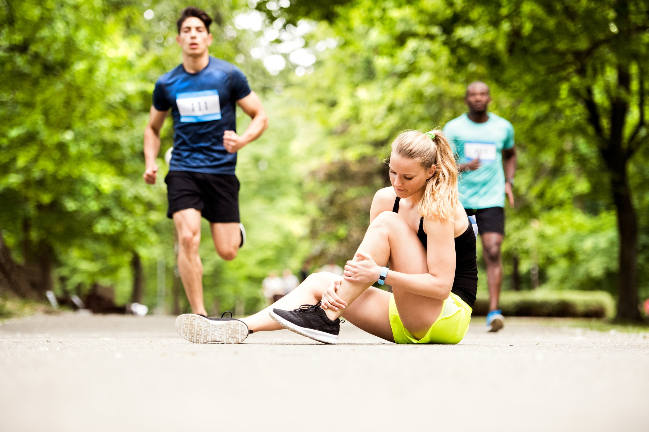 Ankle sprains are the most common orthopedic injury