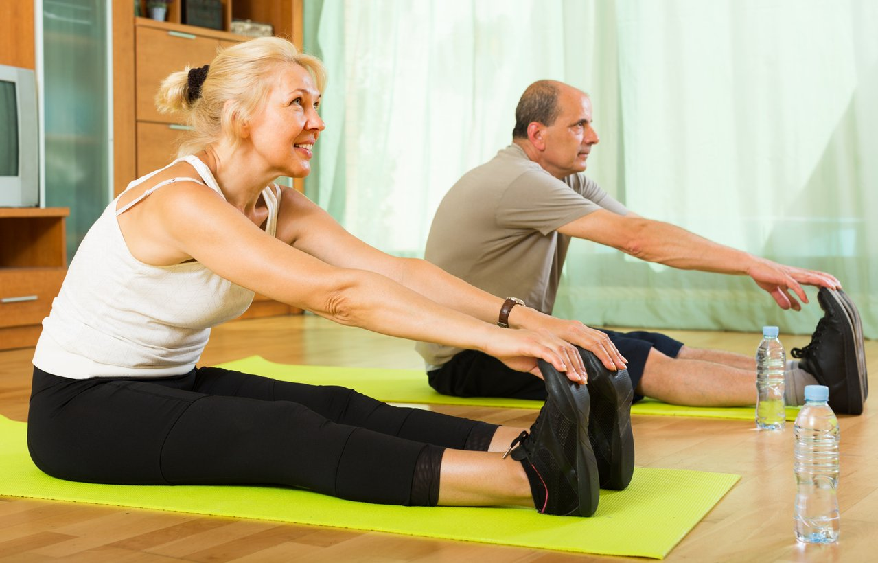Stretching can help prevent muscle strain.