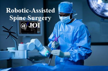JOI spine surgeons use robotic guidance to assist with spinal surgery