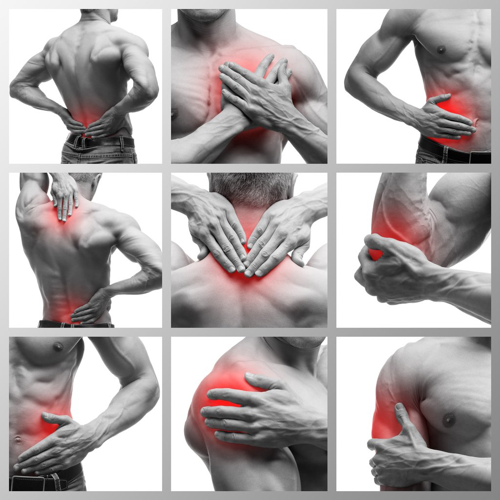 Muscles strains or muscle tears
