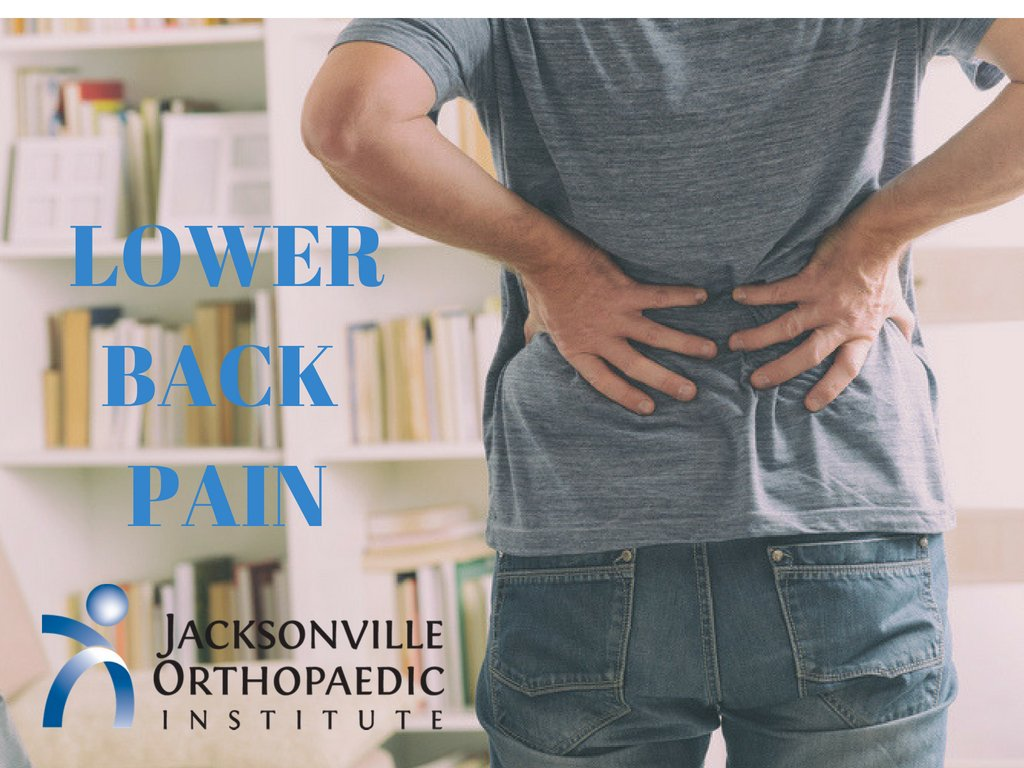 Lower back Pain JOI
