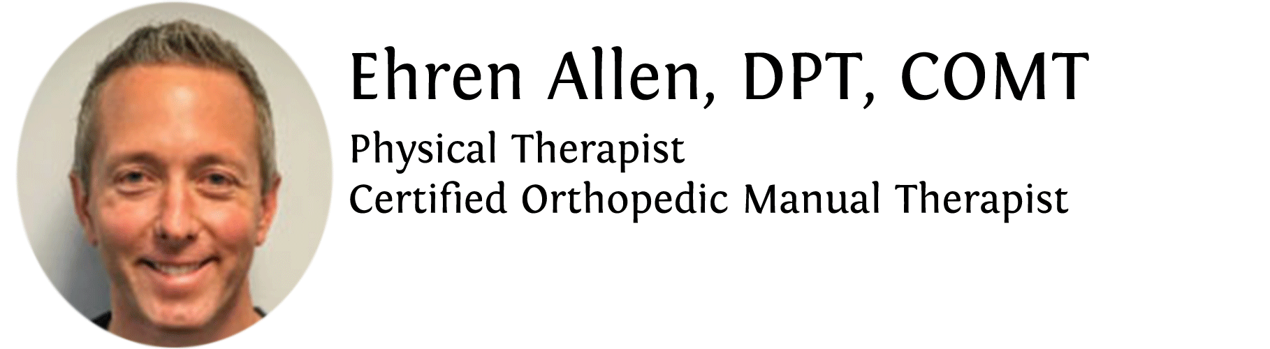 Ehren Allen is a physical therapist and medical content writer for the Jacksonville Orthopaedic Institute.