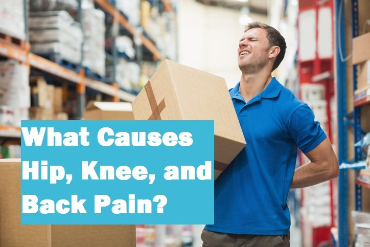 What causes hip, knee, and back pain? JOI explains.