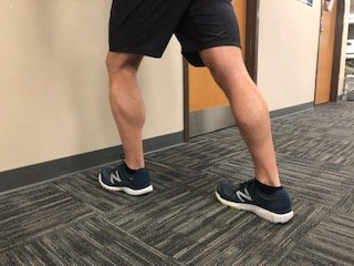 Calf stretching can help with shin splint pain. Tight calf muscles are one of the causes of shin splints