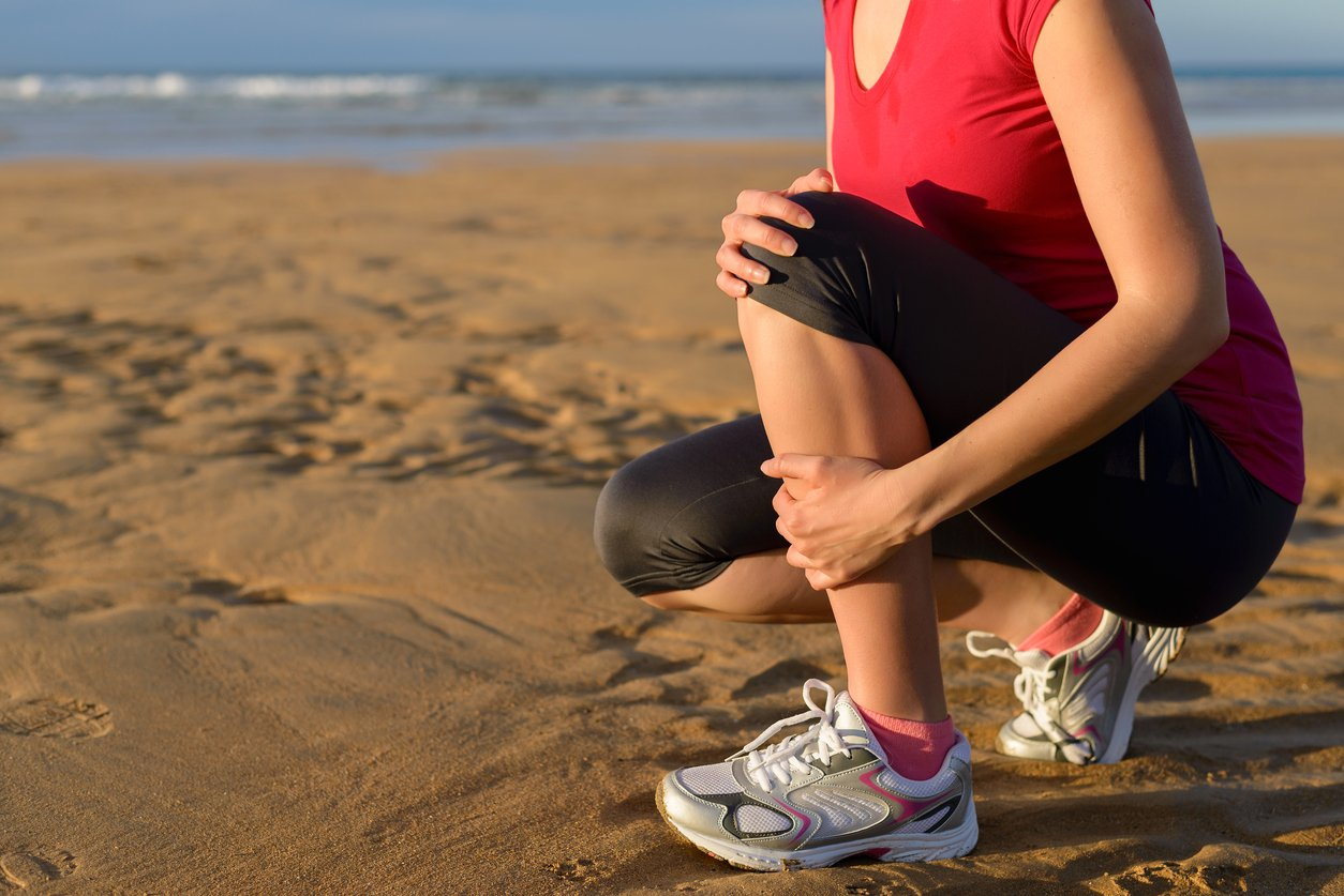 Shin splints can be painful and aggravating.