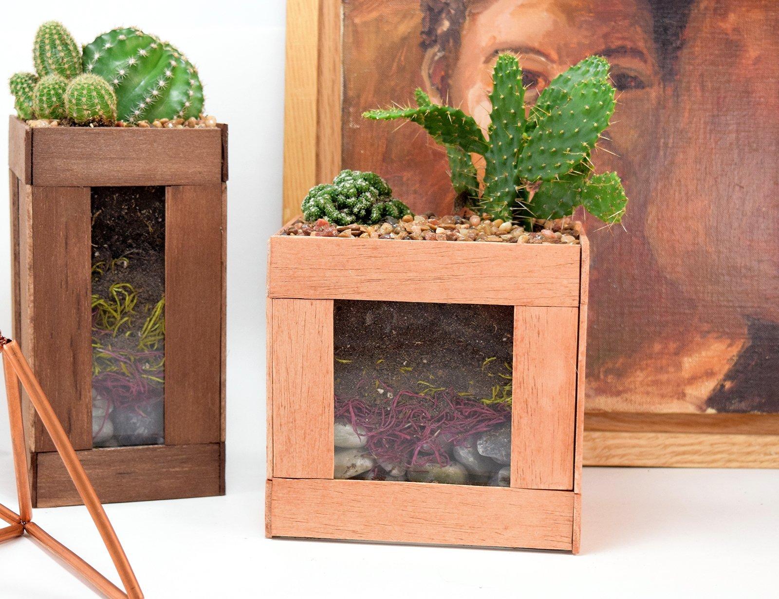 featured image of Summer Trend: DIY Faux Succulent & Cactus Home Décor article
