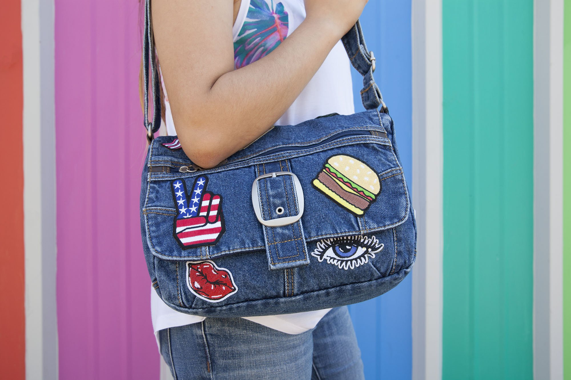 featured image of Personalize Your Denim with Patches and Fabric Glue article