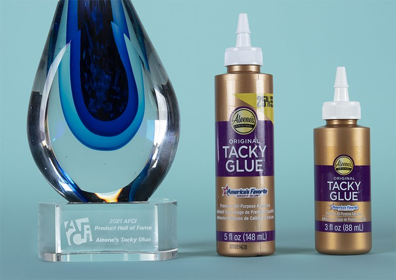 featured image of Aleene's Original Tacky Glue Inducted into AFCI Product Hall of Fame article