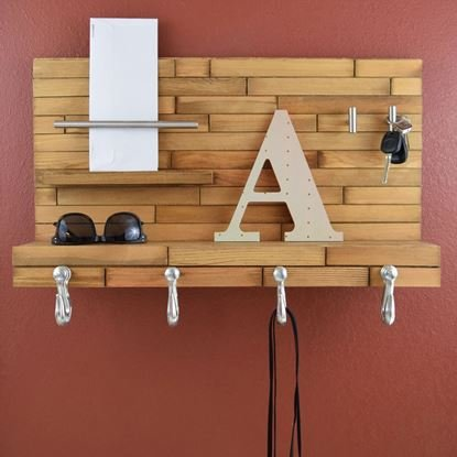 featured image of Make Your Own Wood Front Door Organizer with Hardwood Glue article