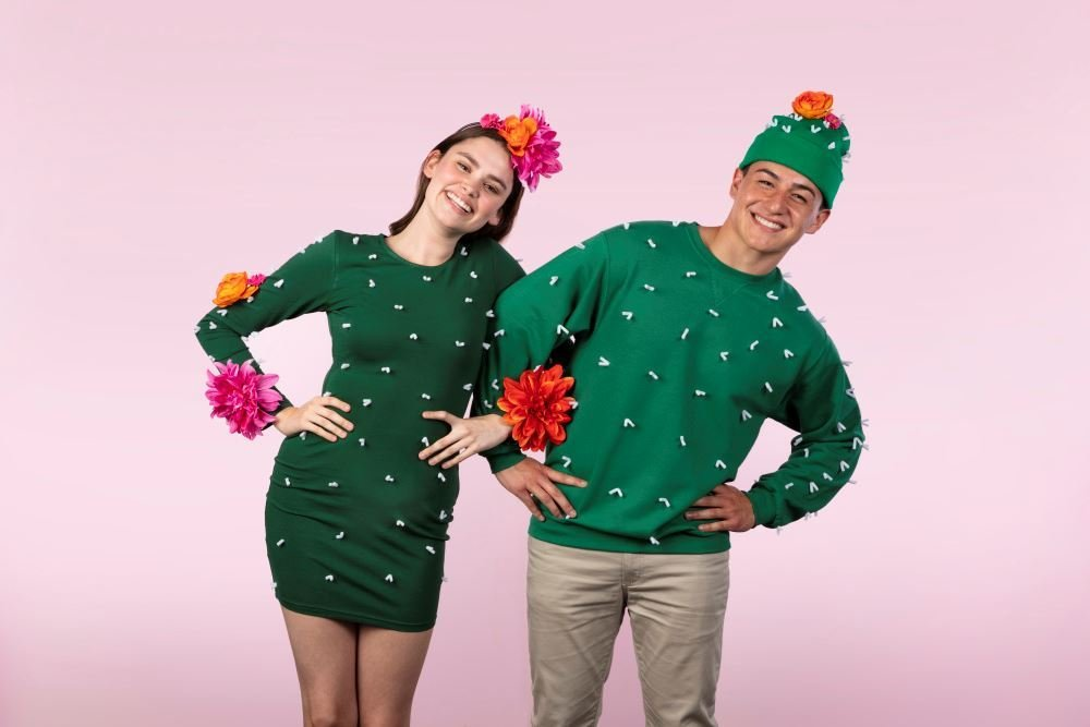 featured image of Easy DIY Couples Costumes article