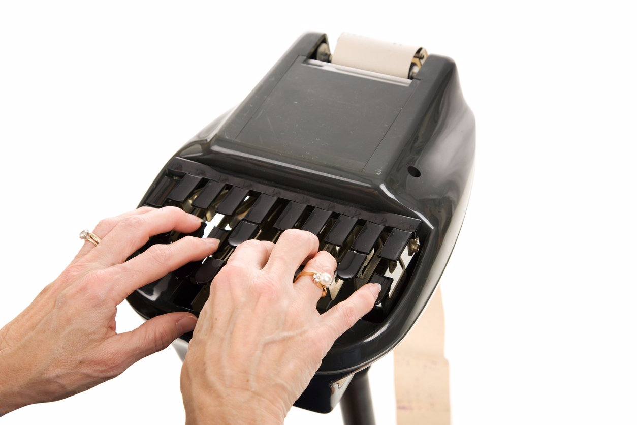 steno machine