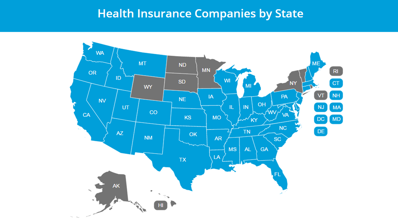 Affordable Health Insurance Companies by State