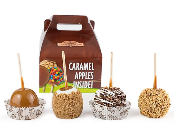 Caramel Apple History and the Rocky Mountain Chocolate Factory Favorites