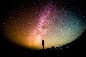 Looking Up at Stars