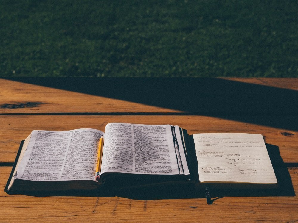 Bible with Journal
