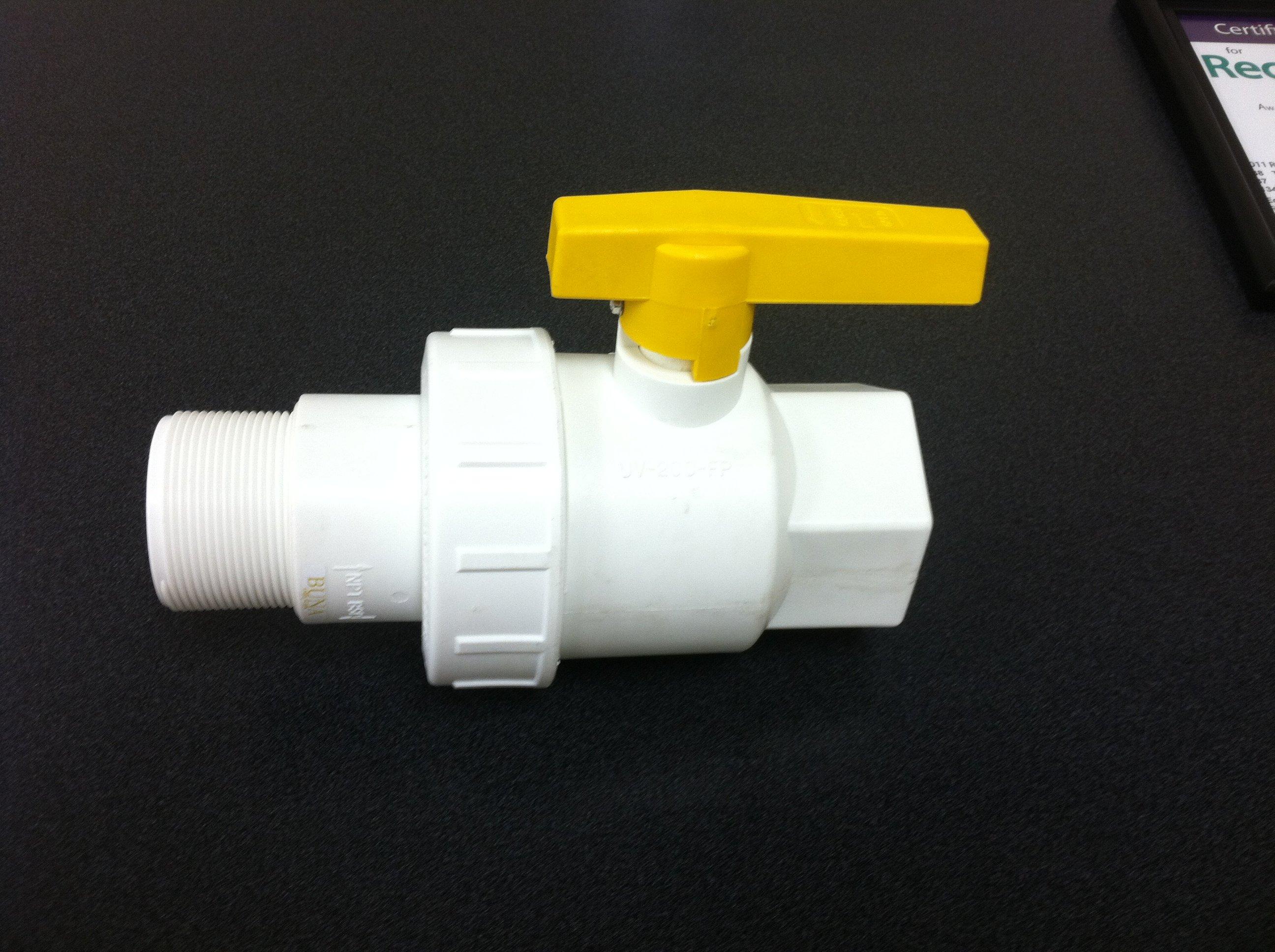 2 inch FDA valve for liquid totes