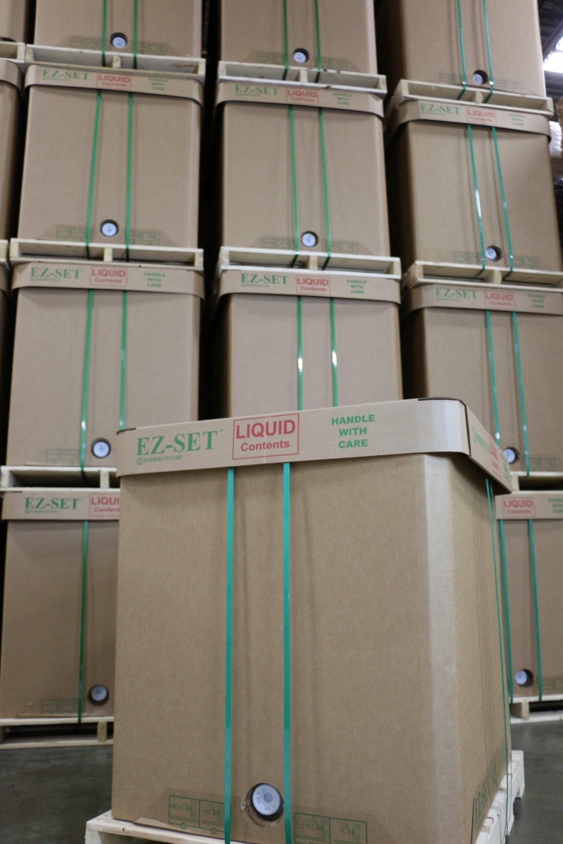 packaging design creates reliable liquid bulk totes