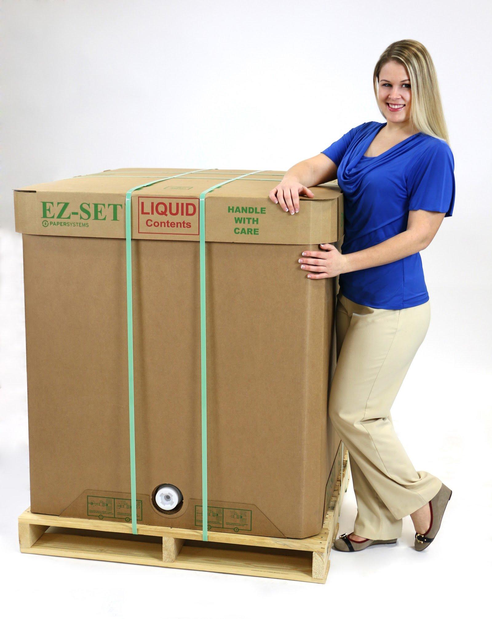 Disposable liquid bulk container