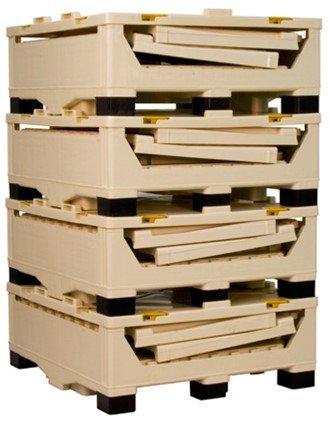 Reusable bulk liquid container