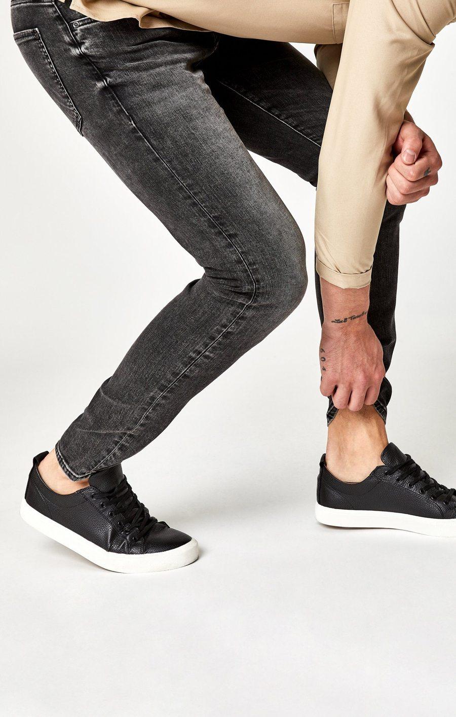 James Skinny Jeans in Dark Grey Brooklyn
