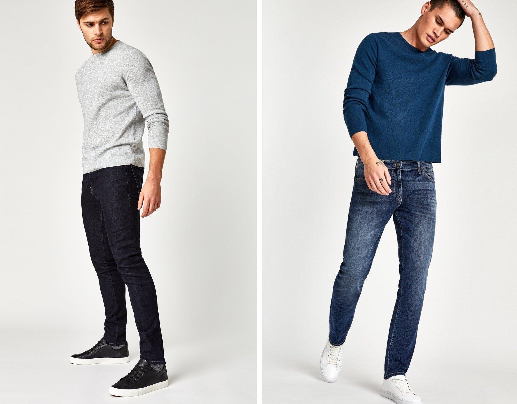 Dark Blue Jeans For Men